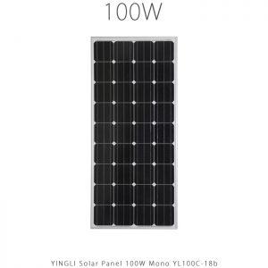 پنل خورشیدی 100 وات مونو کریستال YINGLI