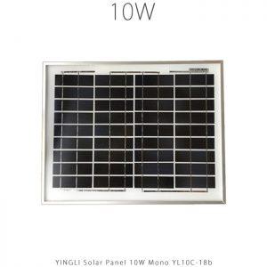 پنل خورشیدی 10 وات مونو کریستال YINGLI