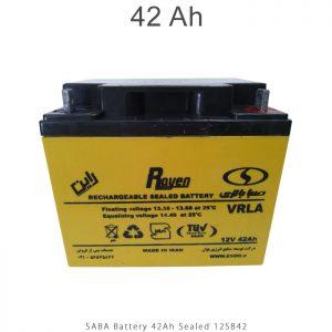 باتری 42 آمپرساعت صبا باتری