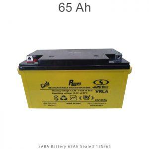 باتری 65 آمپرساعت صبا باتری