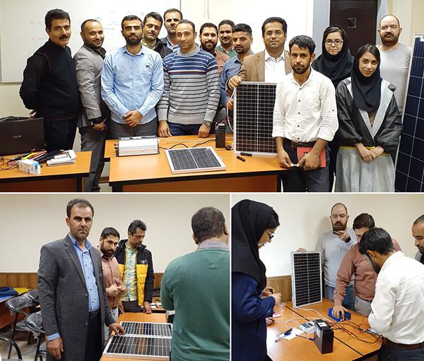 دوره آموزش انرژی خورشیدی
