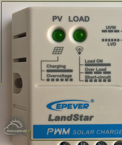 شارژ کنترلر EPEVER سری LS یا LAND STAR