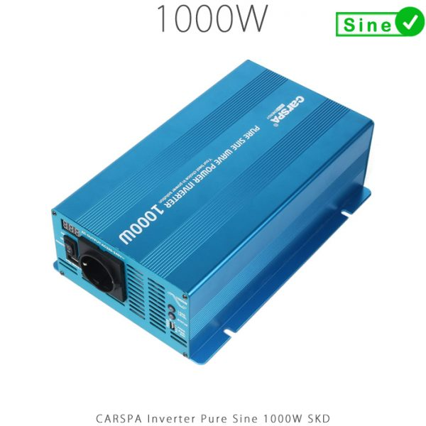 اینورتر سینوسی 1000 وات سری SKD برند CARSPA در فروشگاه اینترنتی هورآیش