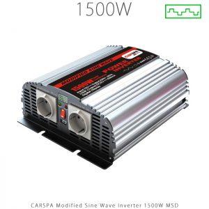 اینورتر شبه سینوسی 1500 وات سری MSD برند CARSPA در فروشگاه انرژی خورشیدی هورآیش