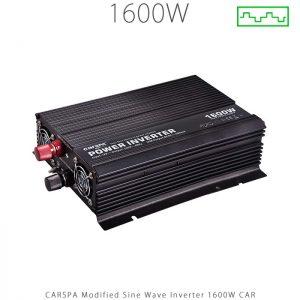 اینورتر شبه سینوسی 1600 وات برند CARSPA سری CAR در فروشگاه خورشیدی هورآیش
