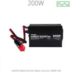 اینورتر شبه سینوسی 200 وات کارسپا سری CAR| فروشگاه انرژی خورشیدی هورآیش