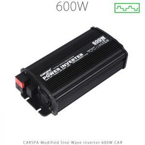 اینورتر شبه سینوسی 600 وات برند کارسپا سری car | فروشگاه اینترنتی انرژی خورشیدی هورآیش