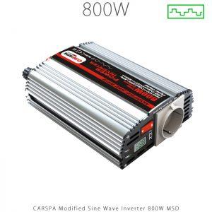 اینورتر شبه سینوسی 800 وات سری MSD برند CARSPA در فروشگاه انرژی خورشیدی هورآیش