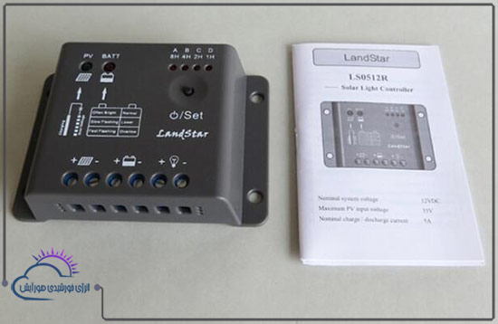 شارژ کنترلر 5 آمپر LS ولتاژ 12 سری LS مدل LS0512R برند EPEVER در فروشگاه هورآیش