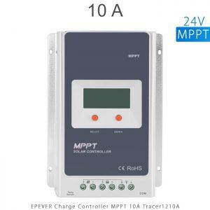 شارژ کنترلر 10 آمپر سری TracerA برند EPEVER مدل Tracer1210A ولتاژ 12 و 24 ولت MPPT در فروشگاه آنلاین انرژی خورشیدی هورآیش