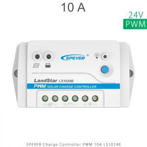 شارژ کنترلر 10 آمپر 24 ولت سری LS مدل LS1024B برند EPEVER