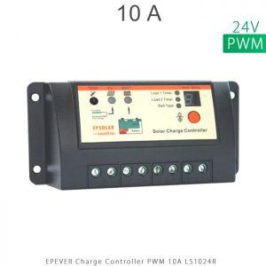 شارژ کنترلر 10 آمپر 24 ولت سری LS مدل LS1024R برند EPEVER
