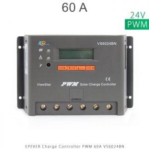 شارژ کنترلر 60 آمپر VS ولتاژ 24 مدل VS6024BN برند EPEVER در فروشگاه خورشیدی هورآیش