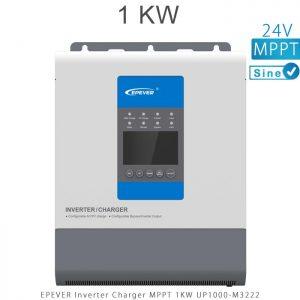 اینورتر شارژر 1KW مدل UP1000-M3222 برند EPEVER ولتاژ باتری 24 تکنولوژی تمام سینوسی MPPT در فروشگاه انرژی خورشیدی هورآیش