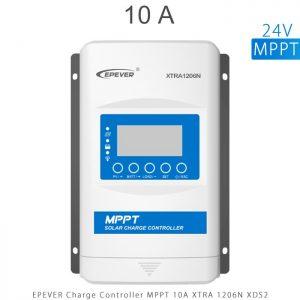 شارژ کنترلر 10 آمپر MPPT سری XTRA برند EPEVER مدل XRTA1206 با نمایشگر XDB1 در فروشگاه آنلاین انرژی خورشیدی هورآیش