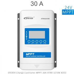 شارژ کنترلر 30 آمپر MPPT سری XTRA برند EPEVER مدل XRTA3210 با نمایشگر XDS2 در فروشگاه آنلاین انرژی خورشیدی هورآیش