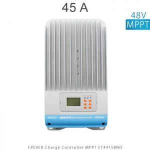 شارژ کنترلر 45 آمپر MPPT مدل ET4415BND برند EPEVER ولتاژ ورودی باتری 12/24/36/48 ولت اتومات در فروشگاه خورشیدی هورآیش