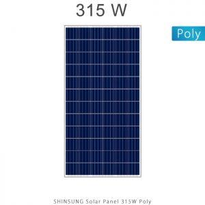 پنل خورشیدی 315 وات پلی کریستال برند شین سانگ SHINSUNG کره جنوبی در فروشگاه انرژی خورشیدی هورآیش