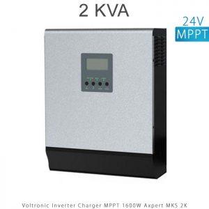اینورتر شارژر 2 کیلو برند VOLTRONIC تکنولوژی تمام سینوسی MPPT مدل Axpert MKS 2K در فروشگاه انرژی خورشیدی هورآیش