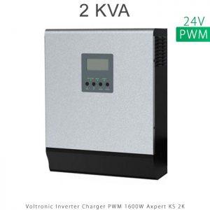 اینورتر شارژر 2 کیلو برند VOLTRONIC تکنولوژی تمام سینوسی PWM مدل Axpert KS 2K در فروشگاه انرژی خورشیدی هورآیش
