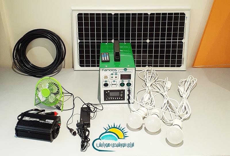 پکیج پنل خورشیدی هورآیش