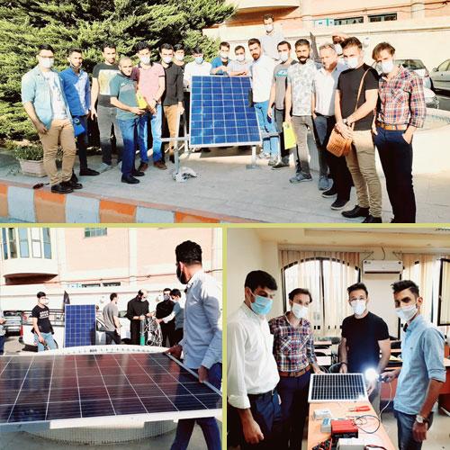 دوره طراحی سیستم برق خورشیدی مهر 99 توسط تیم هورآیش
