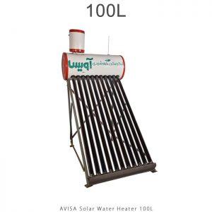آبگرمکن خورشیدی 100 لیتر ساده مدل فلوتردار برند آویسا در فروشگاه انرژی خورشیدی هورآیش