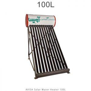 آبگرمکن خورشیدی 100 لیتر مدل هوشمند برند آویسا در فروشگاه انرژی خورشیدی هورآیش