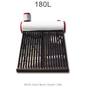 آبگرمکن خورشیدی 180 لیتر ساده مدل فلوتردار برند آویسا در فروشگاه انرژی خورشیدی هورآیش