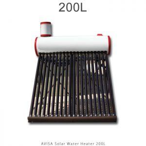 آبگرمکن خورشیدی 200 لیتر ساده مدل فلوتردار برند آویسا در فروشگاه انرژی خورشیدی هورآیش