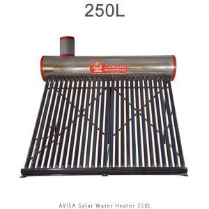 آبگرمکن خورشیدی 250 لیتر ساده مدل فلوتردار برند آویسا در فروشگاه انرژی خورشیدی هورآیش