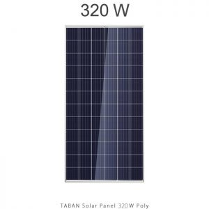 پنل خورشیدی 320 وات تابان