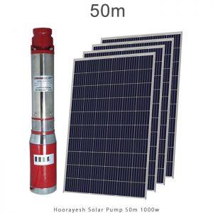 پمپ آب خورشیدی 2 اینچ